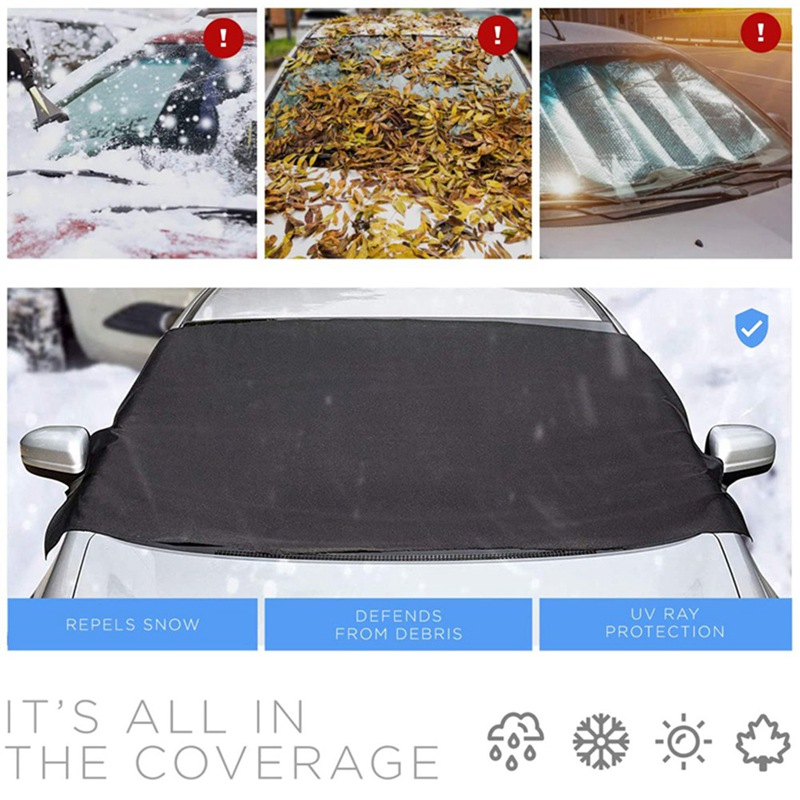 Купить чехол для лобового стекла автомобиля из ткани оксфорд защиты