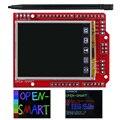 Модуль TFT с ЖК-дисплеем 2,2 дюйма, сенсорный экран, встроенный датчик температуры + ручка для Arduino UNO R3/ Mega 2560 R3 / Leonardo