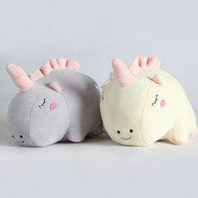 23cm cute unicorn plush doll toy plush toy baby toy baby accompanying sleep toy children birthday gift цена