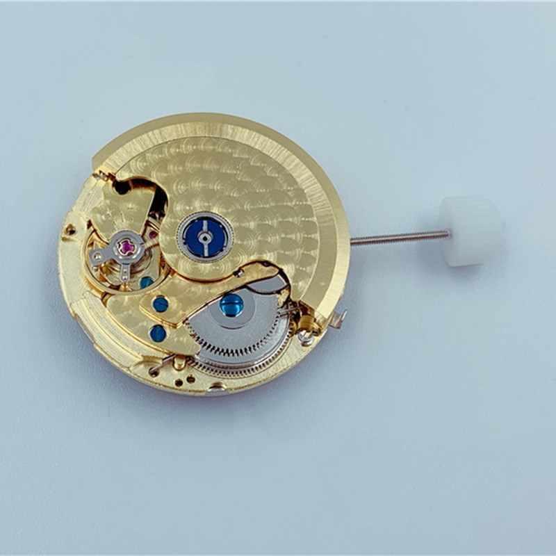 Oglądaj akcesoria ruchowe szanghaj ST10 ruch sześć szpilek 6912 sekund 3 o 'zegar pozycja kalendarz złoty ruch