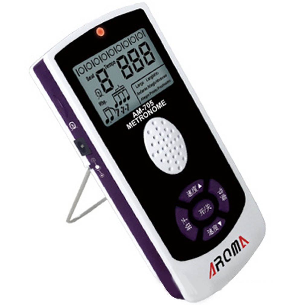 Aroma Rechargeable AM705 Digital Electronic Metronome For Violin