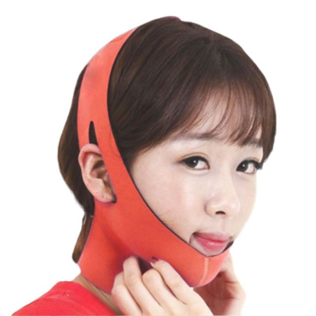 Korean Women Delicate Facial Slimming Bandage Belt V-Face Mask Reduce Double Chin Skin Care Strap Beauty Shaper Face Lift Tools 5