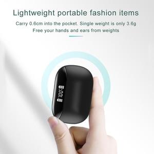 Image 4 - X9 TWS V5.0 Bluetooth kulaklık kablosuz Stereo çift mikrofon su geçirmez gürültü iptal kulaklık LED ekran tipi c şarj kutusu