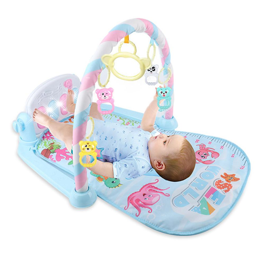 Baby Pedal Piano Toy Musical Game Carpet With Piano Keyboard Fitness And Music Interactive Toy Cute Animal Playmate