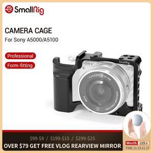 Image 1 - Petite Cage A5000 pour Sony A5000/A5100 Cage en alliage daluminium pour monter le Kit dextension à dégagement rapide du trépied 2226
