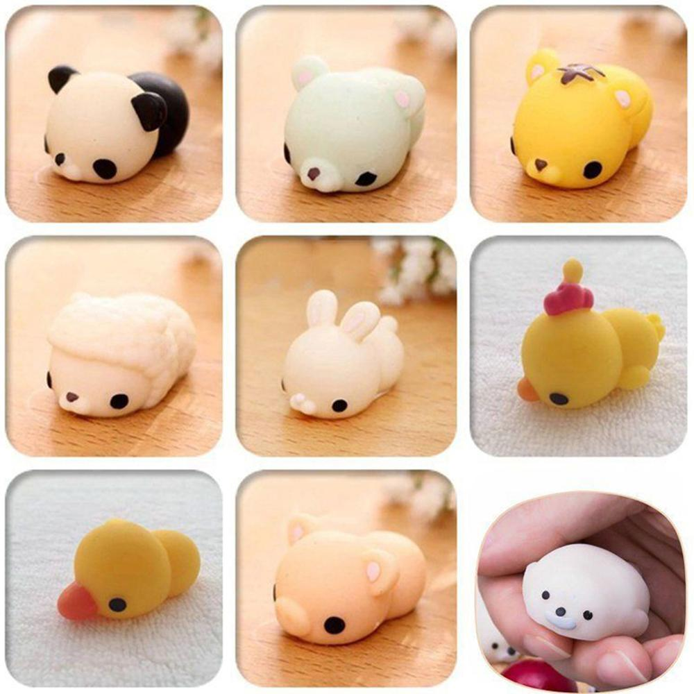 Squishy Animal Toy Squeeze Mochi Rising Antistress Abreact Ball Soft Sticky Cute Funny Gift
