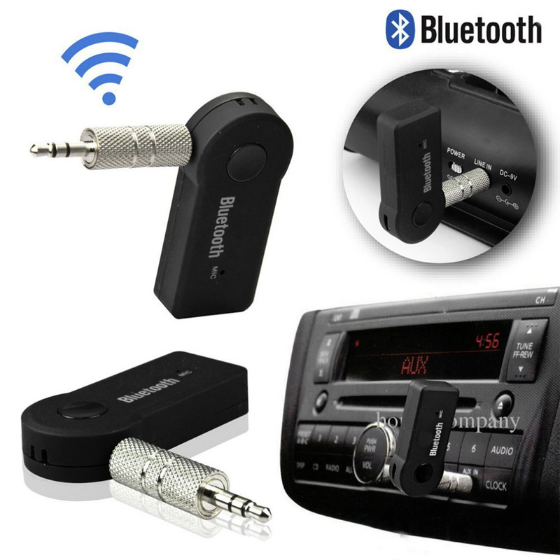 Bluetooth Receiver 3.5mm AUX Car Stereo Audio Music With Microphone HandFree Wireless Adapter AUX Transmitter Car Kits Adapter