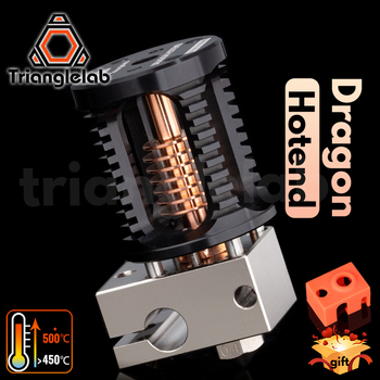 Trianglelab Dragon Hotend V2.0 Super Precision 3D Printer Extrusion Head for V6 Hotend for TITAN BMG Direct drive  Bowden