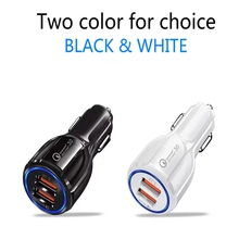 Car 3.1A mini dual USB fast mobile phone charger is suitable for xiaomi phone, huawei samsung, apple car ch