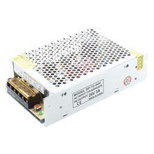 AC 110/220V 24VDC 3A 72W Трансформатор питания для светодиодный лампы с гибкой полосой