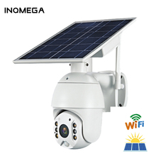 IINQMEGA WIFI Solar Camera 1080P Cloud Wireless IP Camera Shell Sola HD Outdoor Wi-fi Security Surveillance Waterproof Outdoor C