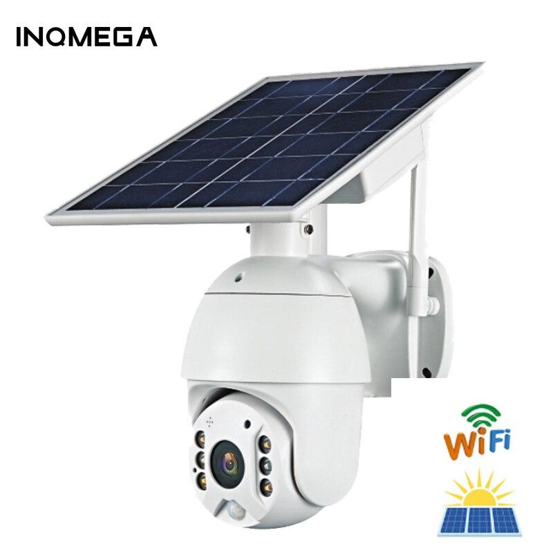 IINQMEGA-cámara Solar WIFI 1080P inalámbrica en la nube, IP, Concha Sola HD, exterior, WIFI, vigilancia de seguridad, impermeable, para exteriores