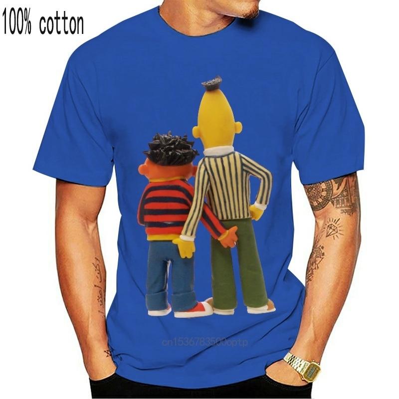 Sesame Street TV Show BERT COSTUME 1-Sided Sublimated Big Print Poly T-Shirt