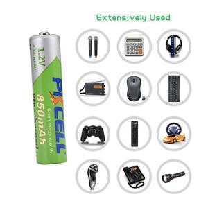 Image 5 - 8Pcs Pkcell Nimh Aaa 1.2V Nimh Oplaadbare Batterij 850Mah Aaa Precharged Batterijen Meer dan 1200 Keer Cycli En 2Pcs Hold Dozen