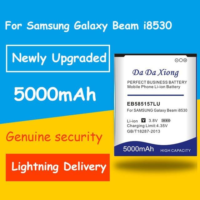 Free shipping 5000mAh EB585157LU/EB585157VK Battery for Samsung i8552 i8558 i8550 i869 i8530 GT-I8552 GT-I8530 Core 2 G355 G355H