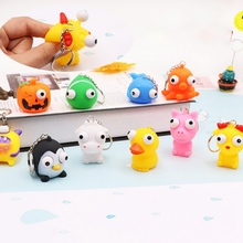цена на Soft Squeeze Antistress Toy Pop Out Eye Doll Novelty Stress Relief Venting Keychain Joking Anti-Stress Decompression Squishy Toy