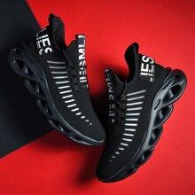 Baskets légères pour hommes, chaussures de course à la mode, automne et été chaussures décontractées, baskets en maille respirantes