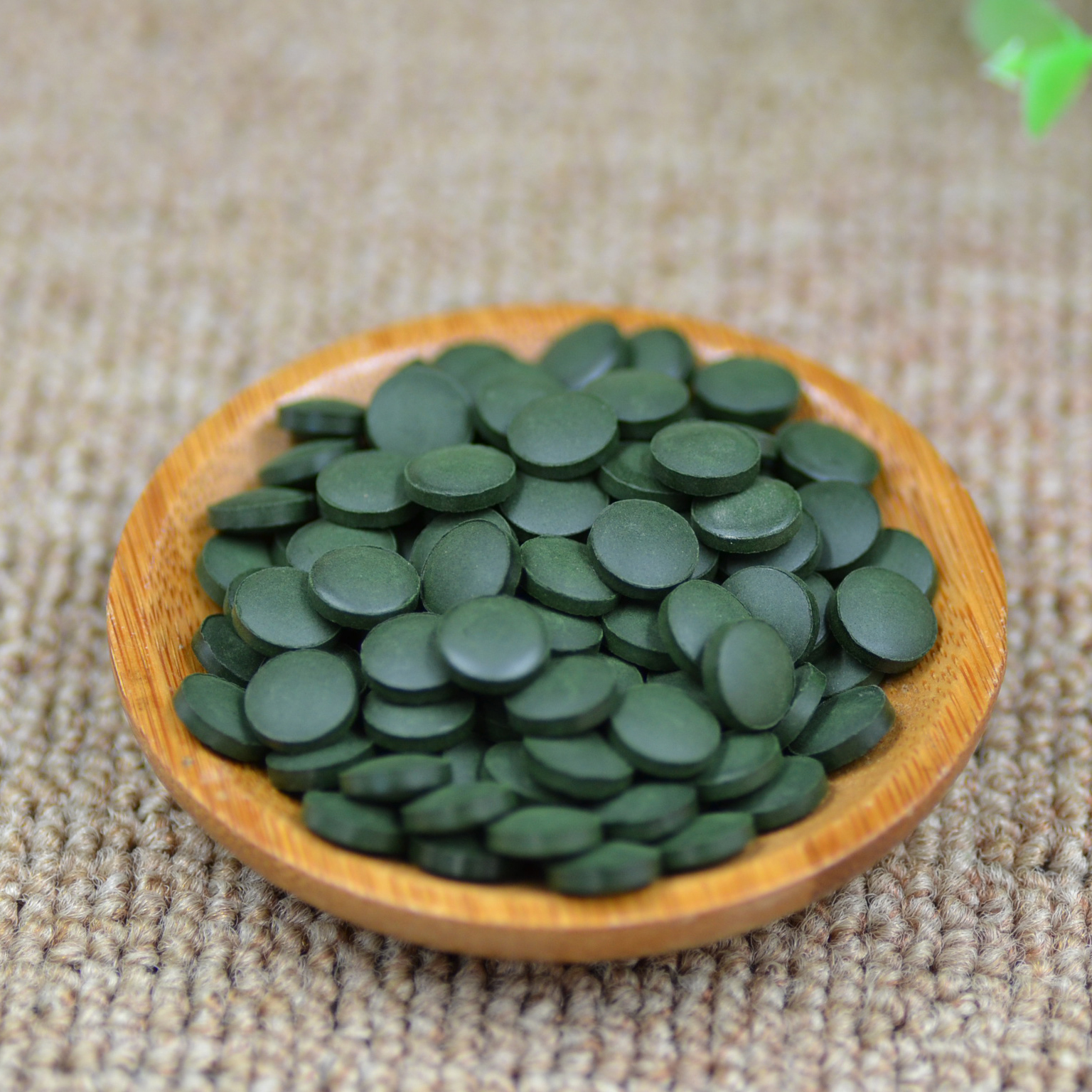 100% Chinese Yunnan Green Organic Spirulina Natural Tea Pills Anti-fatigue Enhance-immune Slim Spirulina Tablet