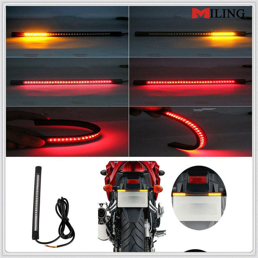 Motorcycle Tail Light Brake Stop Signal Strip For HONDA CB919 CBR 600 F2 F3 F4 F4i CBR900RR NC700 S X VTX1300