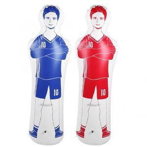 Image 1 - Bolinha inflável para futebol, adulto, durável, 1.6m, treinamento, gol, futebol de ar, maçaneta, ferramenta de treinamento, inflável, parede de pvc