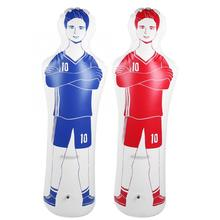 Durable 1.6m Adult Inflatable Football Training Goal Keeper Tumbler Air Soccer Training Dummy Tool PVC Inflatable Tumbler Wall