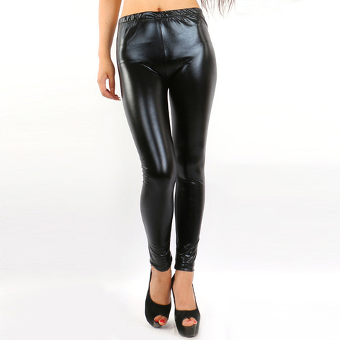 Pants Wearing Tight-fitting Stretch Leggings In Spring And Summer Korean Version Of Fashion-proof Leather Slimming Pants Karachi