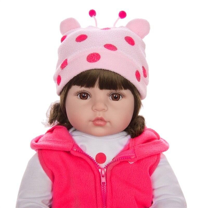 criança recém-nascidos bonecas realista feitos à mão