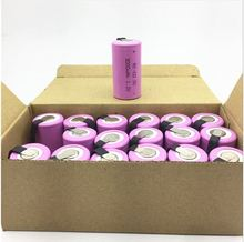 15PCS/LOT Sub C SC 1.2V 3000mAh Ni-Cd Ni Cd Rechargeable Battery Batteries PINK color  for makita tools dewalt