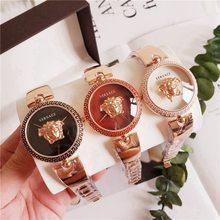 Versace- Luxury Brand quartz women Watches Quartz Watch Stainless Steel Strap wristwatch classic business dress watch 87