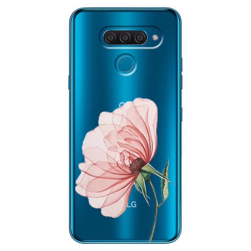 For LG K40 K50 Q60 V50 V50 Thinq Stylo 5 K20 K30 2019 Case Silicone TPU Soft Phone Case Back Cover Clear Soft Cases Funda
