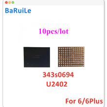 Screen-Controller iPhone 343S0694 Touch Black 10pcs Ic U2402 Baruile for 6-Plus 6G 6P