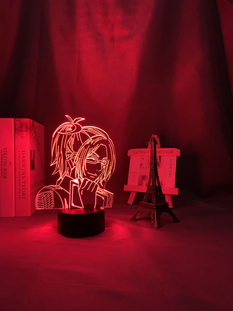 16 COLOR WITH REMOTE HANGE ZOE 3D LED LAMP