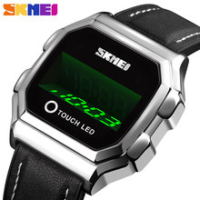 Skmei Stainless Steel Men Sports Watches Digital Watch Men Watch LED Electronic Wristwatches Electronic Clock Relogio Masculino