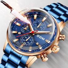 Modne zegarki męskie zegarki kreatywne męskie zegarki luksusowe męskie zegarki sportowe wodoodporne biznesowe reloj mujer bayan saat tanie tanio 19 1cm Moda casual QUARTZ 3Bar Przycisk ukryte zapięcie CN (pochodzenie) Ze stopu 10 7mm Szafirowe Kwarcowe Zegarki Na Rękę