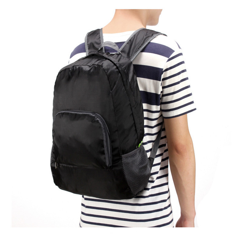 Folding Backpack Ultra-Light Portable Foldable Backpack Waterproof Outdoor Leisure Bag Travel Mountain Climbing Backpack