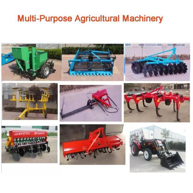 مصغرة جرارات زراعية 4 الدفع الرباعي مزرعة جرار الشاحنات ميمي متعددة الأغراض الآلات الزراعية 5