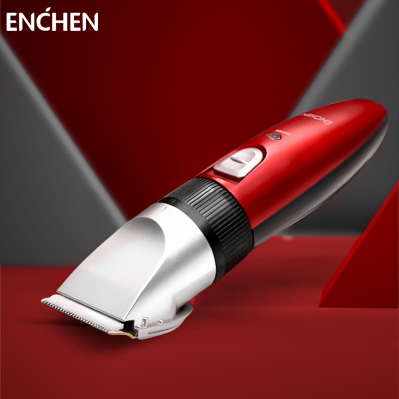 ENCHEN Hair Cutter Machine For Men Baby Adults Kids Barber Cordless Electric Hair Clipper Trimmer Professional Rechargeable