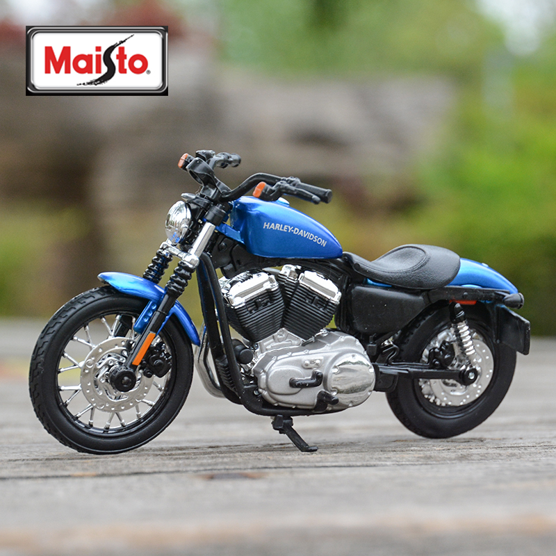 Maisto 1:18 2012 XL 1200N Nightster Diecast Alloy Motorcycle Model Toy