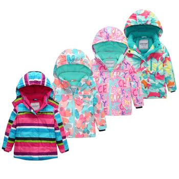 HONEYKING Kids Ski Suit Winter Warm Windproof Boys Outdoor Sports Snow Jackets Girls Snowboard Coat For Ski Clothing Equipment