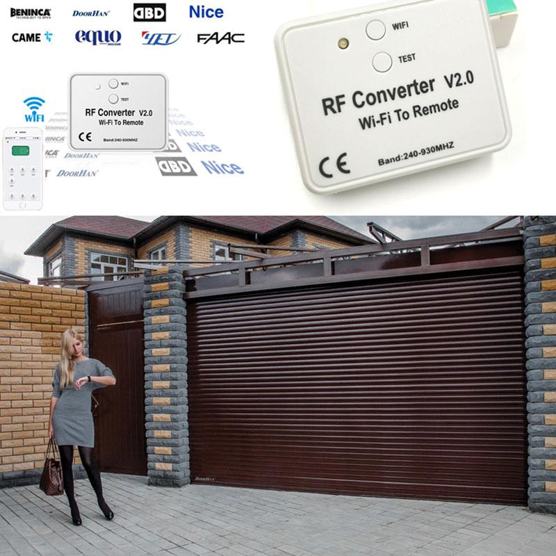 Automatic Gate WIFI Remote Converter For Beninca Doorhan Garage Door Controller  Garage Opener APP Remote Control