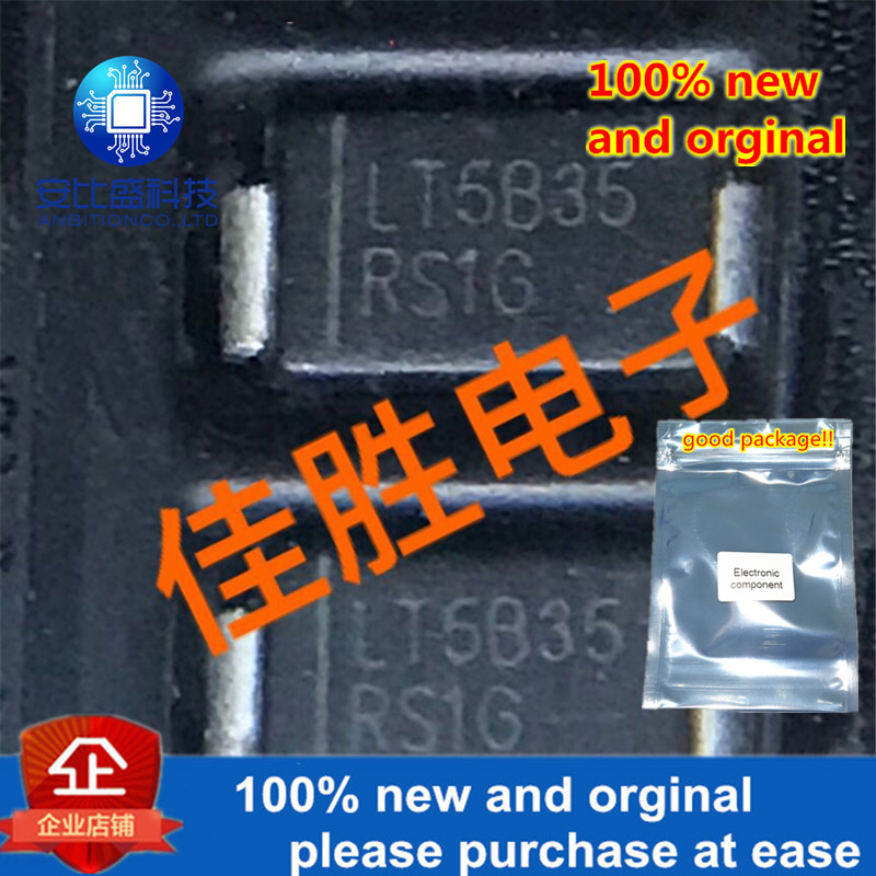 100pcs 100% New And Orginal LlTEON 1A400v Fast Recovery Diode DO214AC Silk-screen RS1G In Stock
