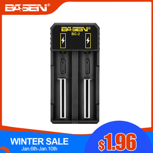 Battery charger 18650 26650 21
