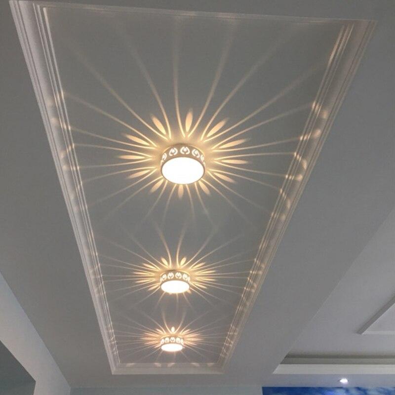 3W светодиодный встраиваемый/поверхностное крепление Smallpox моделирующий светильник Точечный потолочный светильник ing потолочный коридор дверной светильник|Потолочные лампы|   | АлиЭкспресс