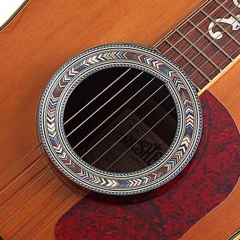 94mm Guitar Rosette Accessories Acoustic Guitar Sound Hole Soundhole Rosette Wooden Guitar Parts Accessories GXB09A acoustic classical guitar repair clip maintenance tools guitar parts accessories
