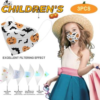 Halloween Children Mask Pollution Protection PM2.5 Filter Kids Outdoor Protective Respirator Cover Mouth Face Masks Masker