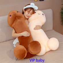 Funny Cushion Pillow Plush-Toys Stuffed Long-Penis Dolls Simulation Gift 100cm Sexy