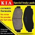 Für KIA cerato【2007 2012】1. 6L AT GL 1 6 MT GLS Vorne und hinten bremsbeläge-in Auto-Bremsbeläge & Schuhe aus Kraftfahrzeuge und Motorräder bei