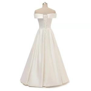 Image 3 - LORIE boho düğün elbisesi 2019 aplikler Dantel tül vestido de casamento prenses gelinlikler Romatic Gelin Elbise parti elbise