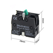 5PCS ZB2-BE101C Push Button Switch Contact Block XB2 Series Products La