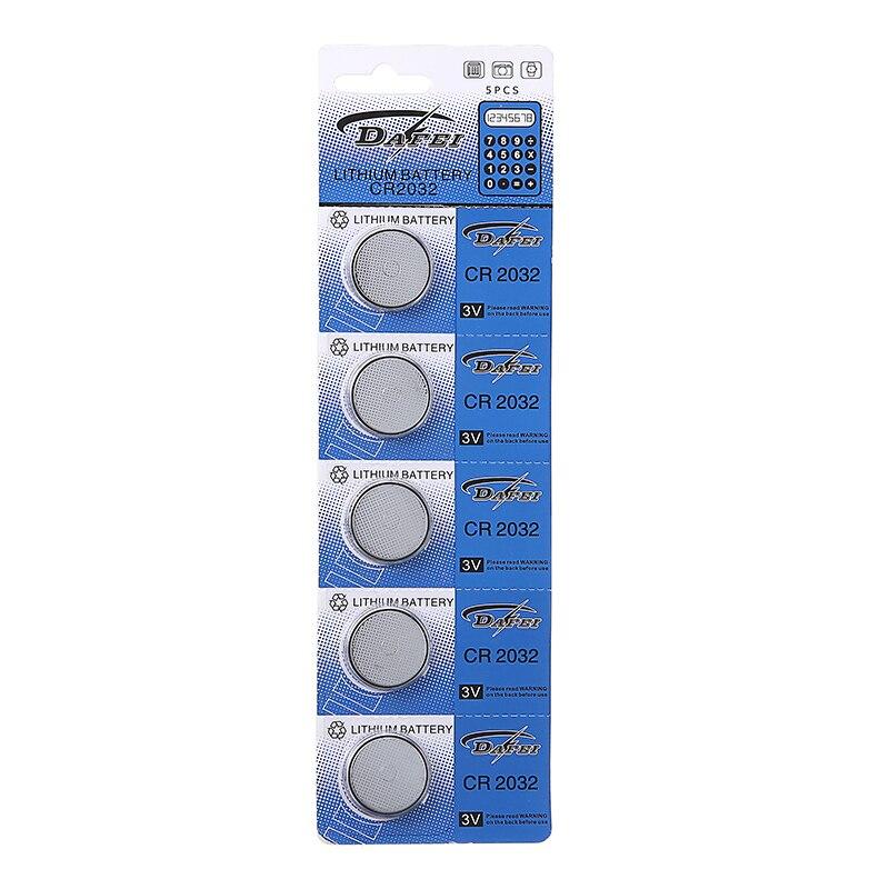 5x CR2032 батарейки для монет 3 В литиевая батарейка для часов калькуляторов часов запасные аксессуары Оптовая Продажа батарейки